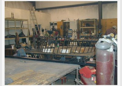 The Main Staircase: Shop Fabrication 2